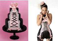 corselette cake