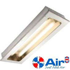 4ft 1310mm Stainless Steel Recessed Kitchen Canopy Light