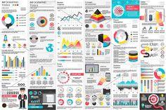 Business Infographic Elements by alexdndz on @creativemarket
