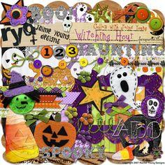 Witching Hour Digital Scrapbooking Kit