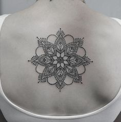 #tattoo#mandala#blackwork#akeyvan#Israel# done at Tribal Tattoo
