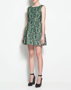 LACE TULIP DRESS - ZARA United States