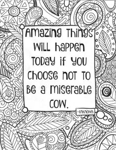 All Quotes Coloring Pages | Coloring pages | Pinterest | Free ...
