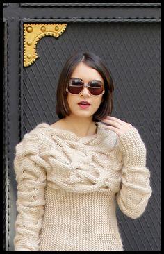 AQUA Creamaqua maglione