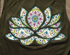 lotus flower applique – Etsy