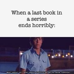 I'm looking at you, Divergent....