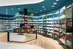 Find high quality Farmacia Shop Display Shelves Design here from MOOKOO which is one of the leading Pharmacy Shop Display manufacturers and suppliers in China. Our factory is specialized in supplying wholesale and customized services. Visual Merchandising, Pharmacy Store, Drug Store, Showroom Interior Design, Restaurants, Medical Design, Retail Store Design, Design Furniture, Kitchen Furniture