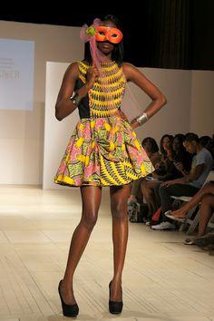 Africa Fashion Week New York 2012: Hennaflower Collection.
