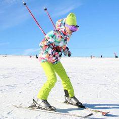 129.29$  Buy now - http://ali7b3.worldwells.pw/go.php?t=32268819025 - GSOU SNOW winter ski jacket women snowboard jackets ladies ski snow suit female warm waterproof chaqueta esqui mujer