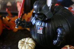 Star Wars Darth Vader Pumpkin Push-Ins