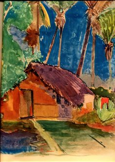 Beautiful painting by Paul Gauguin.