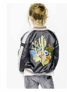 Finger in the Nose, bomber and embroidery. trends summer 2017