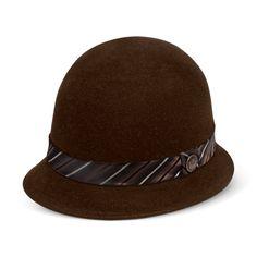 Voynich Wool Cloche hat - Goorin Bros Hat Shop Black Medium