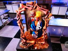 Halloween Wars: Haunted Houses   Cake, Food and Halloween cakes
