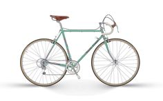 #wantoftheday Bianchi L'Eroica. I wanna buy a racer and the old ones are better, because look at it!