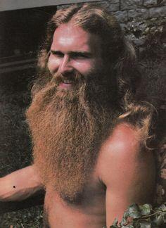 1970s biker beard