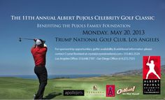 For sponsorship opportunities please visit:  http://www.pujolsfamilyfoundation.org/news/events/2013-albert-pujols-celebrity-golf-classic.htm