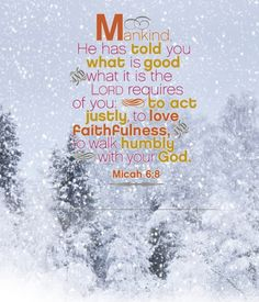 Micah 6:8 - made by Dave L Walli with Bazaart #collage