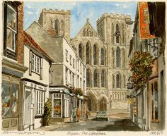 Ripon - Cathedral - Portraits of Britain