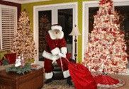 So cute!! Website where you take a picture of your tree, upload it, and pick a Santa to stick in your picture. Proof that Santa was at your house!!! - Click image to find more Holidays & Events Pinterest pins