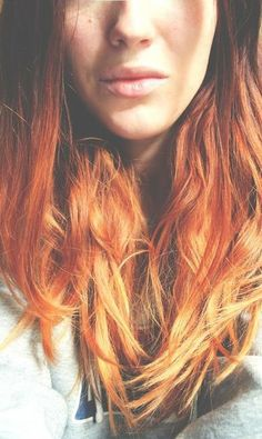 ginger to blonde ombre - Google Search