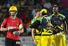CPL 2016: Jamaica Tallawahs vs Trinbago Knight Riders With Andre Russell spectacular all-round performance ( Scored 44 runs and took 4 wickets), #Jamaica #Tallwahs won the match by 19 runs against #Tribango #KnightRiders.