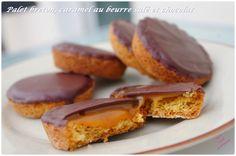 Palet breton au caramel au beurre salé et chocolat
