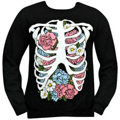 [PREORDER] 'Floral Rib Cage' Sweater