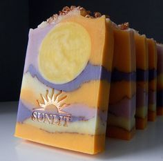 Handmade Soap - Artisan Soap - Cold Process Soap - Sunset Citrus Soap