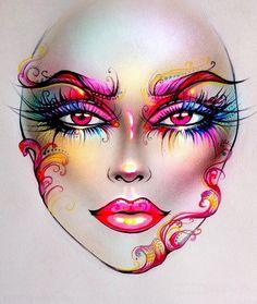 "7,925 Likes, 42 Comments - Sergey X (@milk1422) on Instagram: ""#artist@milk1412  ✨ #mylove #myart #myartistcommunity #myartistcommunityrussia #makeup #makeupart…"""