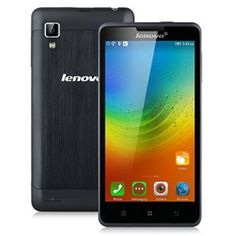 Lenovo P780  Smartphone Móvil Libre 3G Android (5.0 HD Pantalla Dual Sim Quad Core 4Gb Rom 1Gb Ram 8Mp Cámara WIFI Hotspot Bluetooth GPS Multi-Idioma) Negro