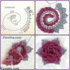 Rosa croche