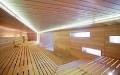 Leuze Mineral Spa – references for sauna manufacturer and spa outfitter KLAFS: the most convincing argument for the quality, profitability and popularity of our saunas. Indoor Sauna, Studios, Sauna Design, Finnish Sauna, Steam Bath, Hotels, Turkish Bath, Wellness Spa, Home Spa