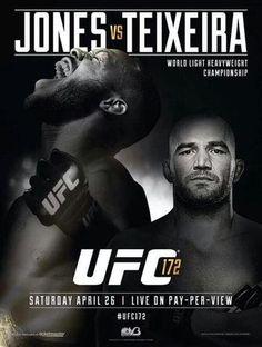 UFC 172: Jones vs. Teixeira Weigh In Ergebnisse - Results