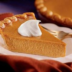 Libby's(R) Famous Pumpkin Pie Allrecipes.com Diabetes In Children, Diabetic Recipes, Camembert Cheese, Pumpkin, Dairy, Gourd, Pumpkins, Squash