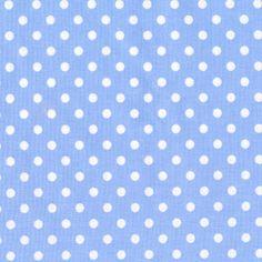 Michael Miller House Designer - Dots - Dumb Dot in Sky