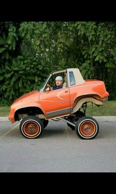 happened to the rest of the car? Smart Car Body Kits, Donk Cars, Weird Cars, Crazy Cars, Cute Cars, Funny Cars, Pedal Cars, Vw Cars, Car Mods