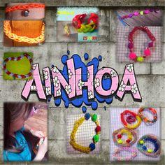 creaciones FOG: Pulseras de gomitas, trabajo de Ainhoa