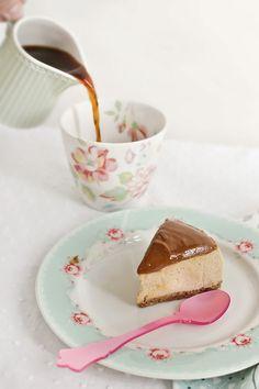 Receta de cheesecake con dulce de leche 2