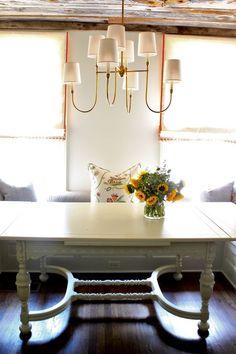 Love this chandelier! // Nest Egg Blog by Rachel Halvorson