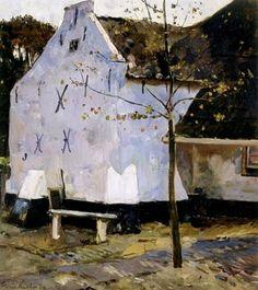 De witte muur (Puik en Duin) - Floris Verster (1861 - 1927)