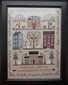 Little House Needleworks - Little House Neighberhood