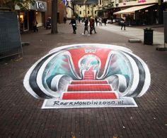 #graffitinetwerk 3d streetpainting Roermond graffitinetwerk  #3dgrondschildering #3dpainting #3dschildering #3Dstreetpainting #3d-art #Buitenreclame #Guerrillamarketing #Straatreclame #streetadvertising #Street-art #streetart #streetpaint #Streetpainting