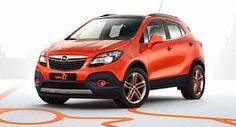 2015 Orange Opel Mokka Moscow Edition