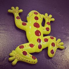 Dotted Frog at Petroglyph.
