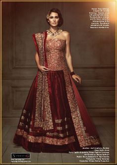 Bridal Lehenga by Namrata G!   Visit www.contact-namratag.com to get in touch with Namrata G or Call us at 90085-88114 for further information  #NamrataG #NamG #NamrataGCollections