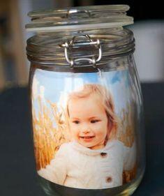 Kreative Foto-Geschenke mit Kindern basteln