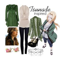 Tsunade (Naruto) Inspired Outfit i will so not be doing heels though i don't want to die