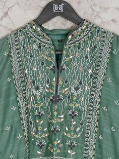 Green cotton silk festive occasion kurti - G3-WKU8343 | G3fashion.com