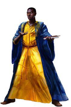 personagem genérico africano